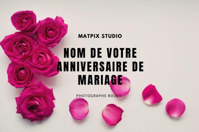 Nom de votre anniversaire de Mariage