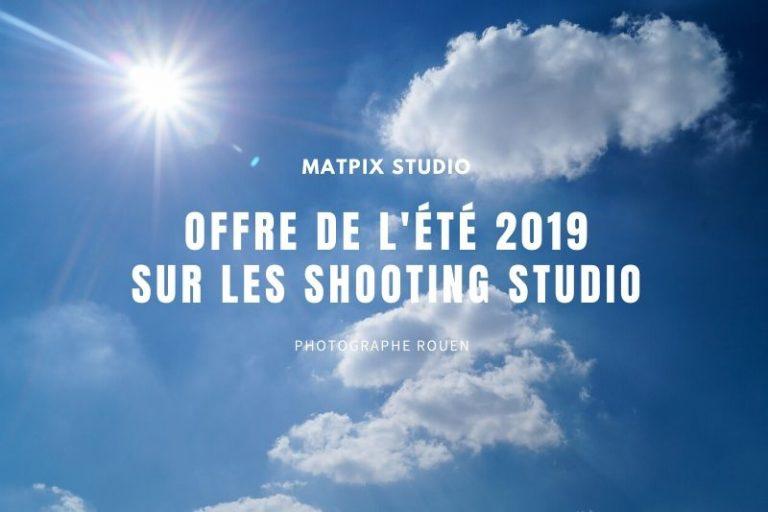 Offre de l'été sur les Shooting Studio