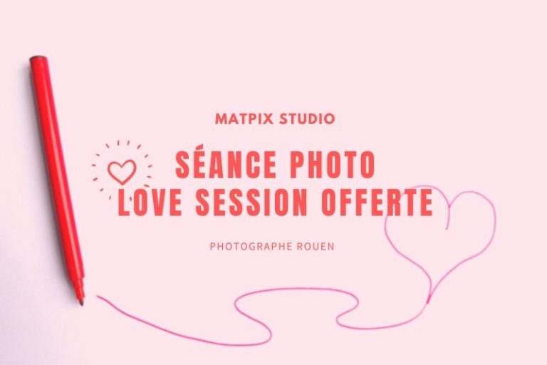Séance photo Love Session offerte