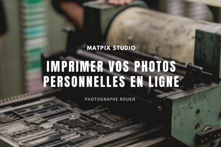 Imprimer vos photos personelles en ligne
