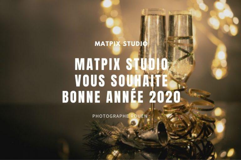 MATPIX Studio vous souhaite Bonne année 2020