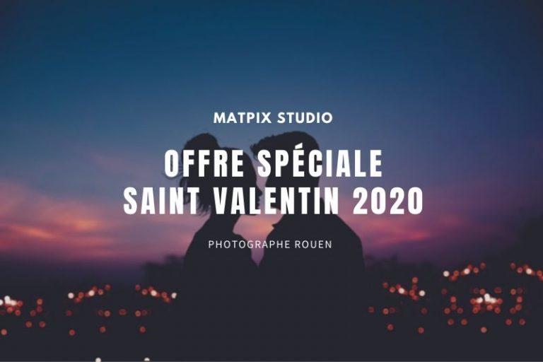 Offre spéciale Saint Valentin