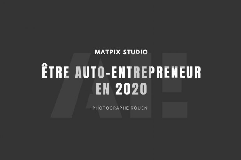 Être auto-entrepreneur en 2020