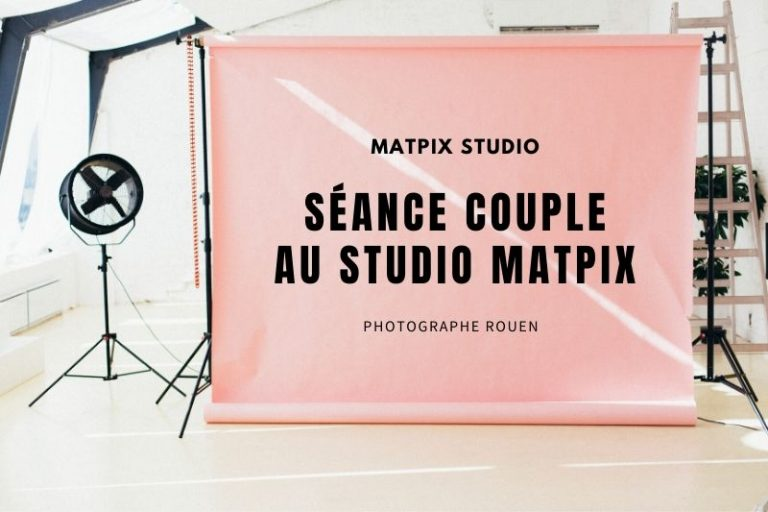 Séance couple en studio – Audrey & Alban