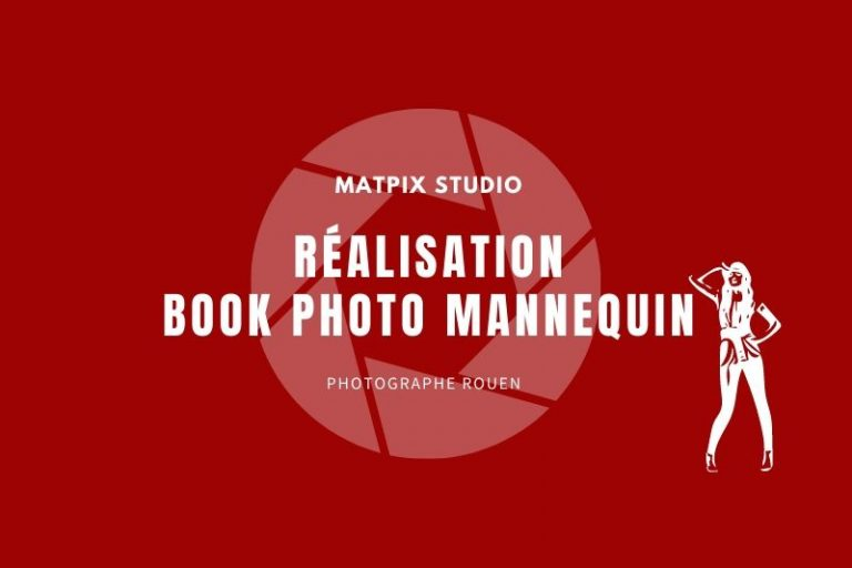Réalisation book photo mannequin