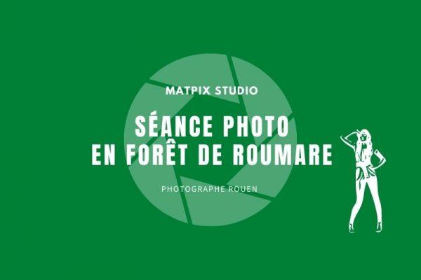 Séance photo musicale en forêt de Roumare