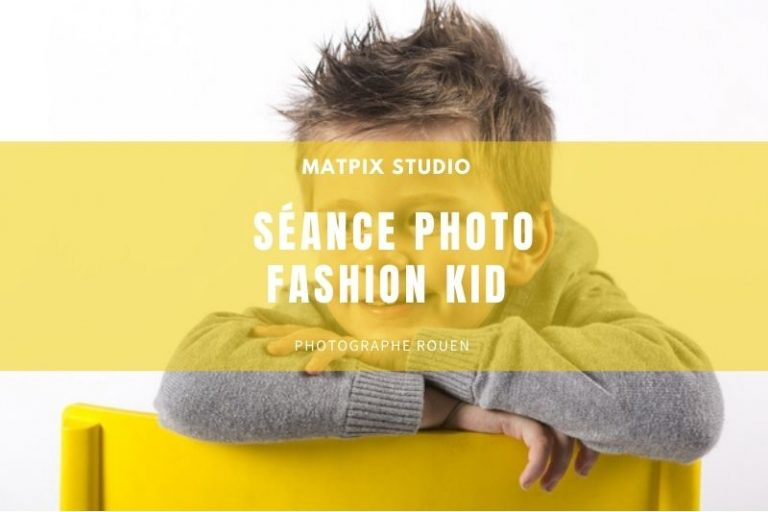 Séance fashion kid au Studio – Wesley