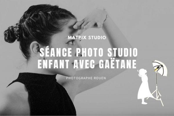 Séance portrait studio enfant – Gaëtane