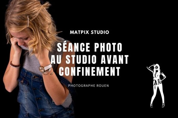 Séance photo en Studio avant le confinement