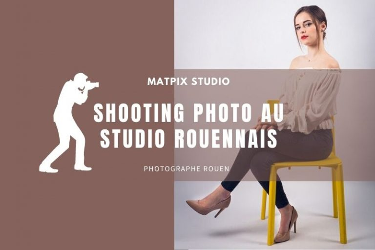 Shooting Portrait au Studio Rouennais