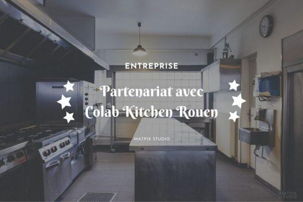 Partenariat avec Colab Kitchen Rouen