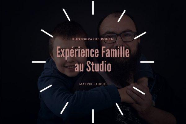 Expérience famille studio rouen