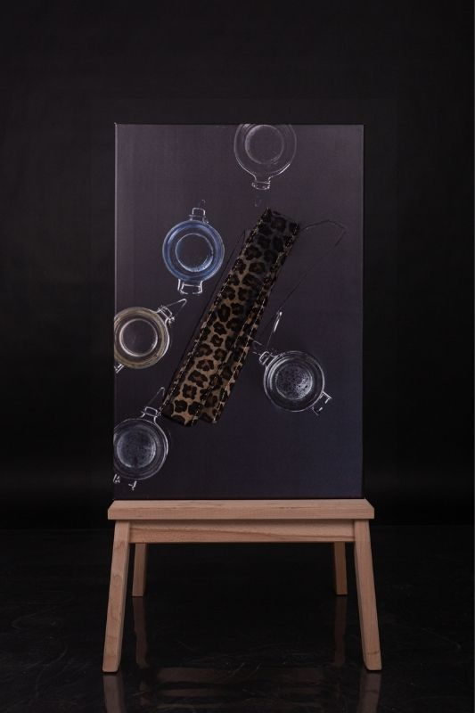 Exposition-tableau-art-photographie-cuir-mathieu menguy-naima chebbah-rouen-normandie-la léopard