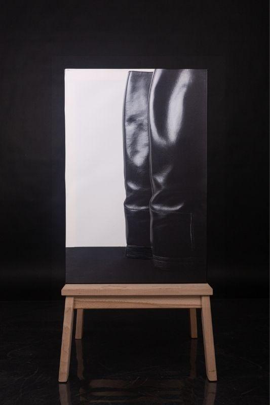 Exposition-tableau-art-photographie-cuir-mathieu menguy-naima chebbah-rouen-normandie-les talons