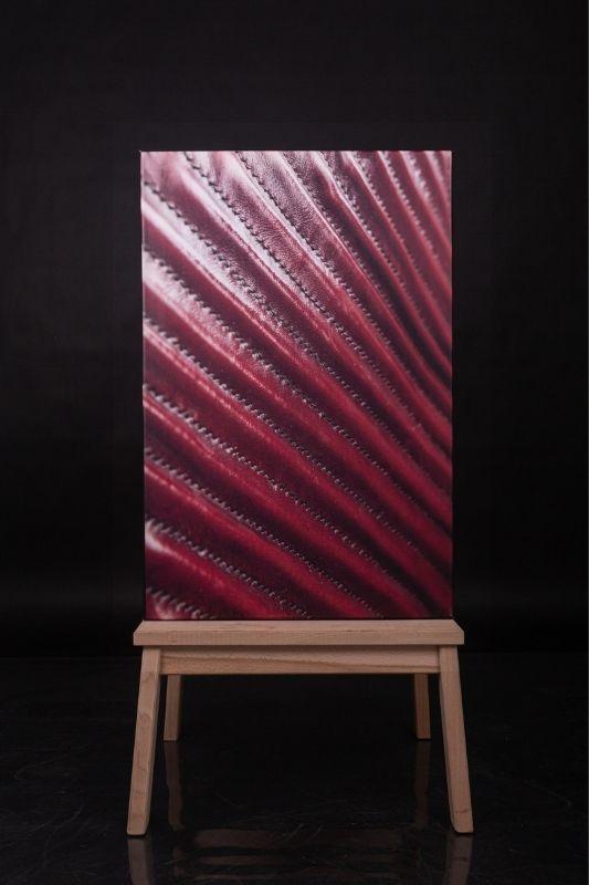Exposition-tableau-art-photographie-cuir-mathieu menguy-naima chebbah-rouen-normandie-couture en perspective