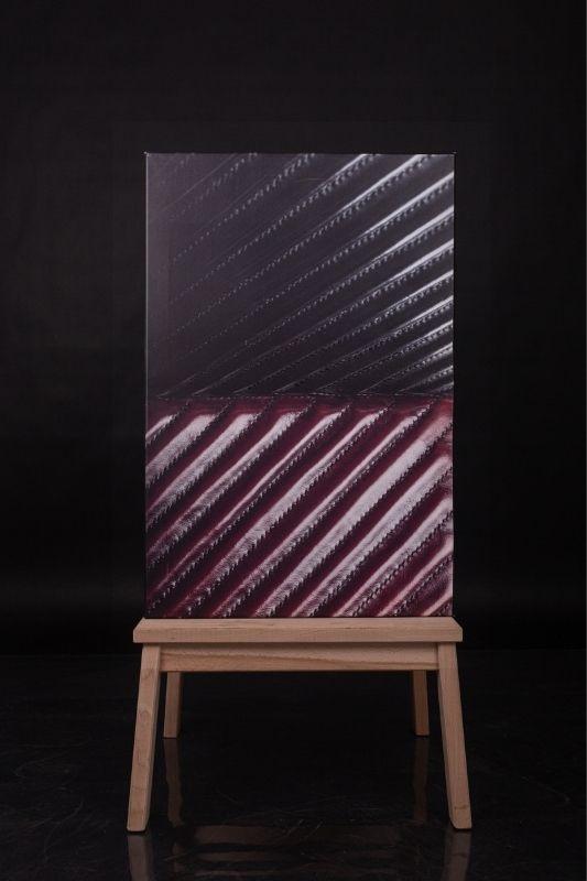 Exposition-tableau-art-photographie-cuir-mathieu menguy-naima chebbah-rouen-normandie-la rouge et noire