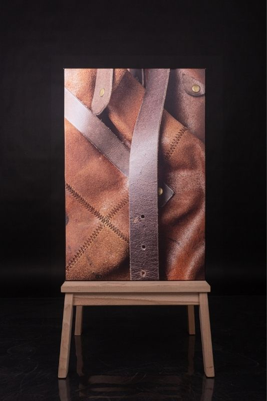 Exposition-tableau-art-photographie-cuir-mathieu menguy-naima chebbah-rouen-normandie-le tablier