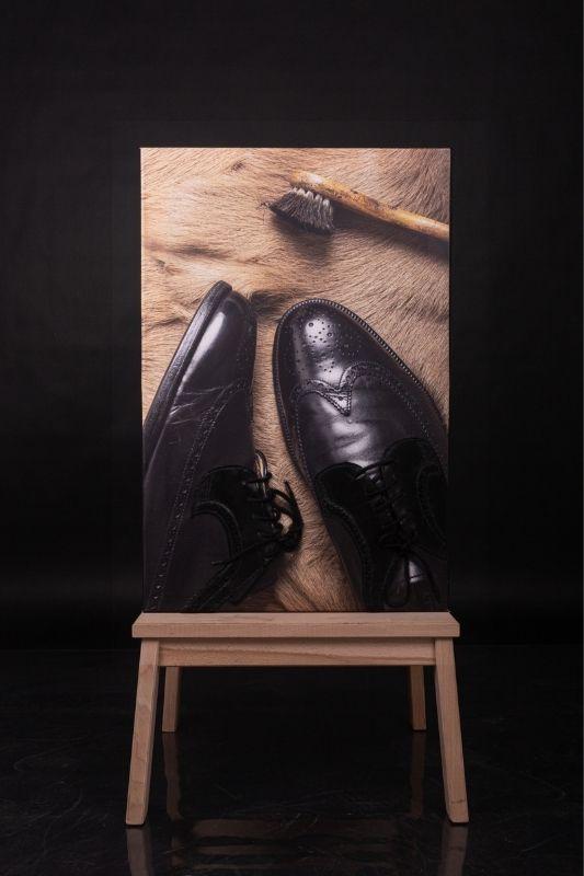 Exposition-tableau-art-photographie-cuir-mathieu menguy-naima chebbah-rouen-normandie-le laçage