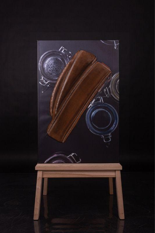 Exposition-tableau-art-photographie-cuir-mathieu menguy-naima chebbah-rouen-normandie-la patinée